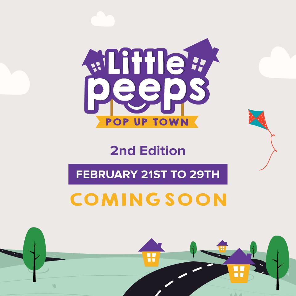 LITTLE PEEPS POPUP TOWN - PEMBROKE 2ND Edition flyer