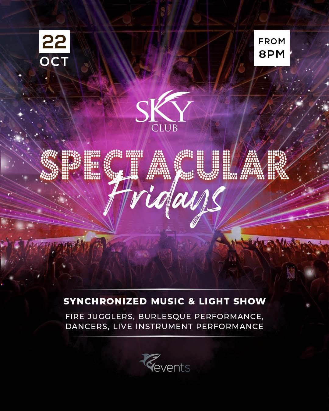 Spectacular Fridays poster