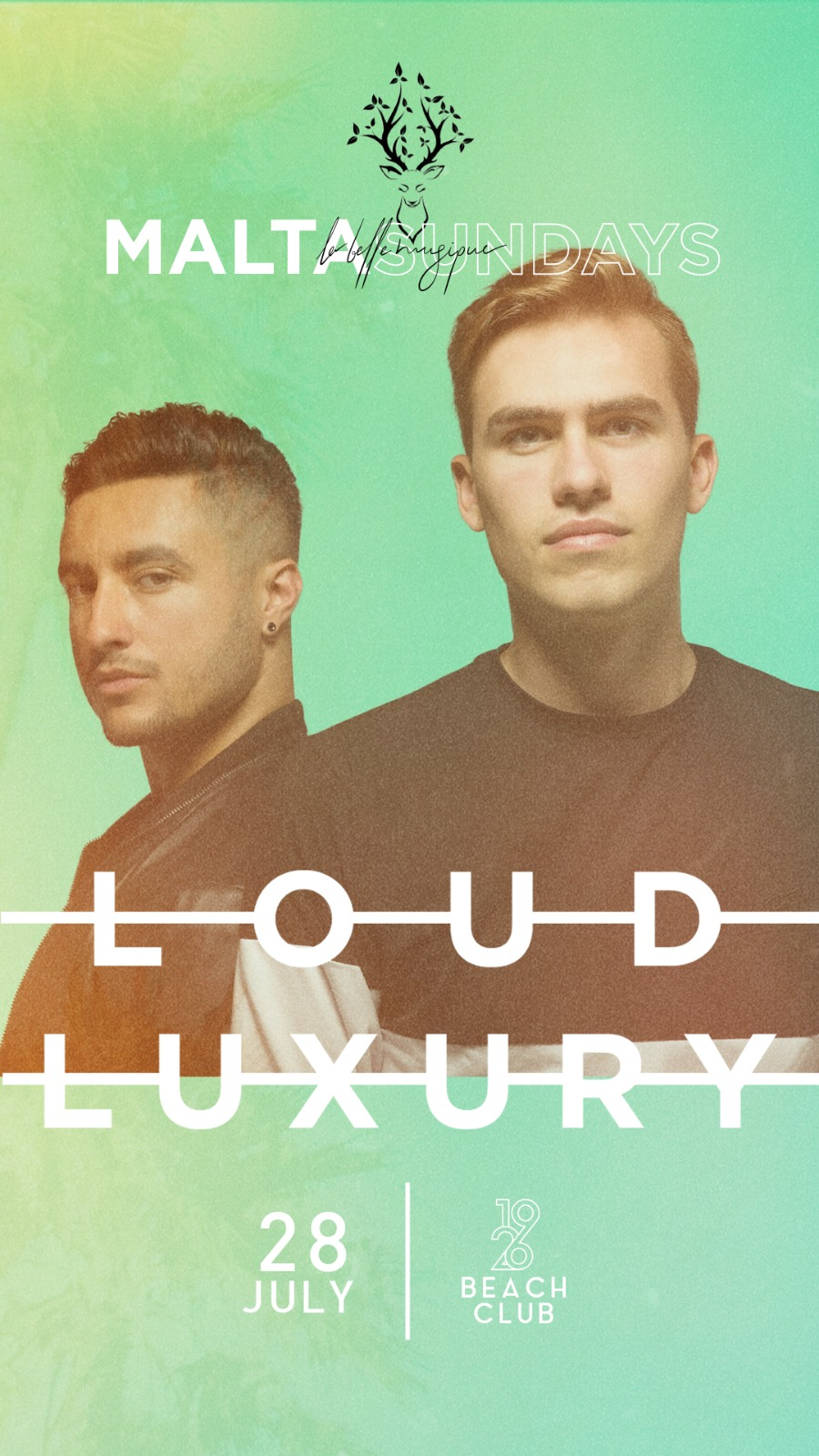 LA BELLE MUSIQUE MALTA SUNDAYS 2019 ft. LOUD LUXURY flyer