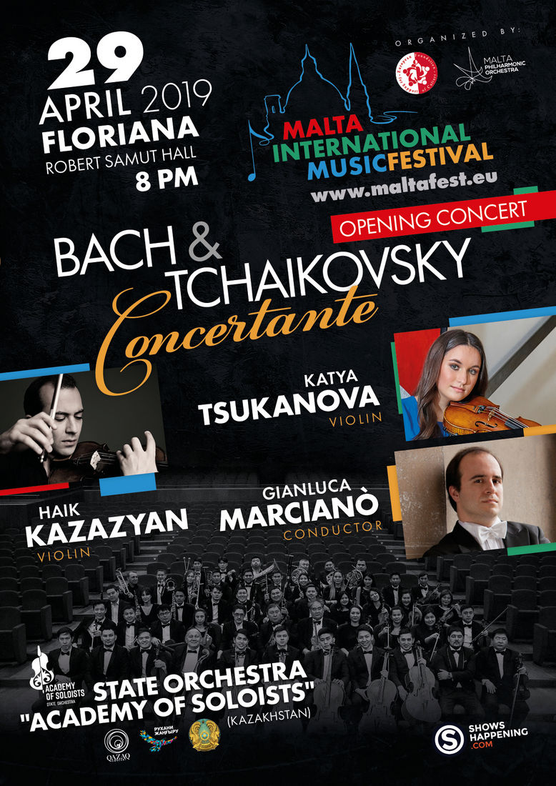 Opening Concert - Bach-Tchaikovsky Concertante flyer