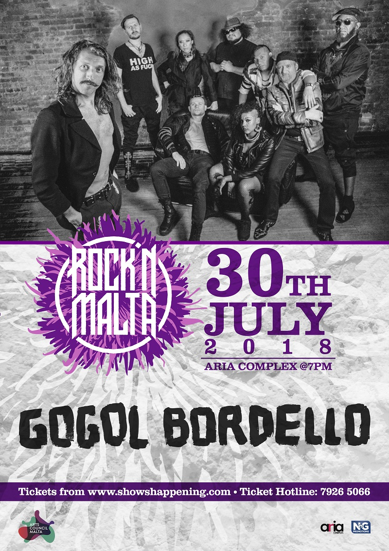 Gogol bordello flyer