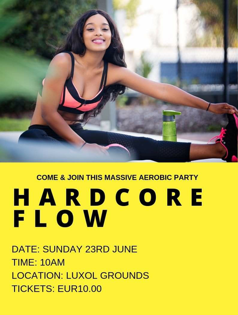 Hardcore Flow (Outdoor Aerobic Workout) flyer
