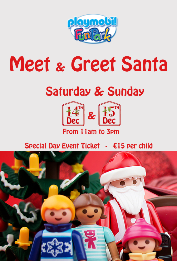 Meet & Greet With Santa flyer