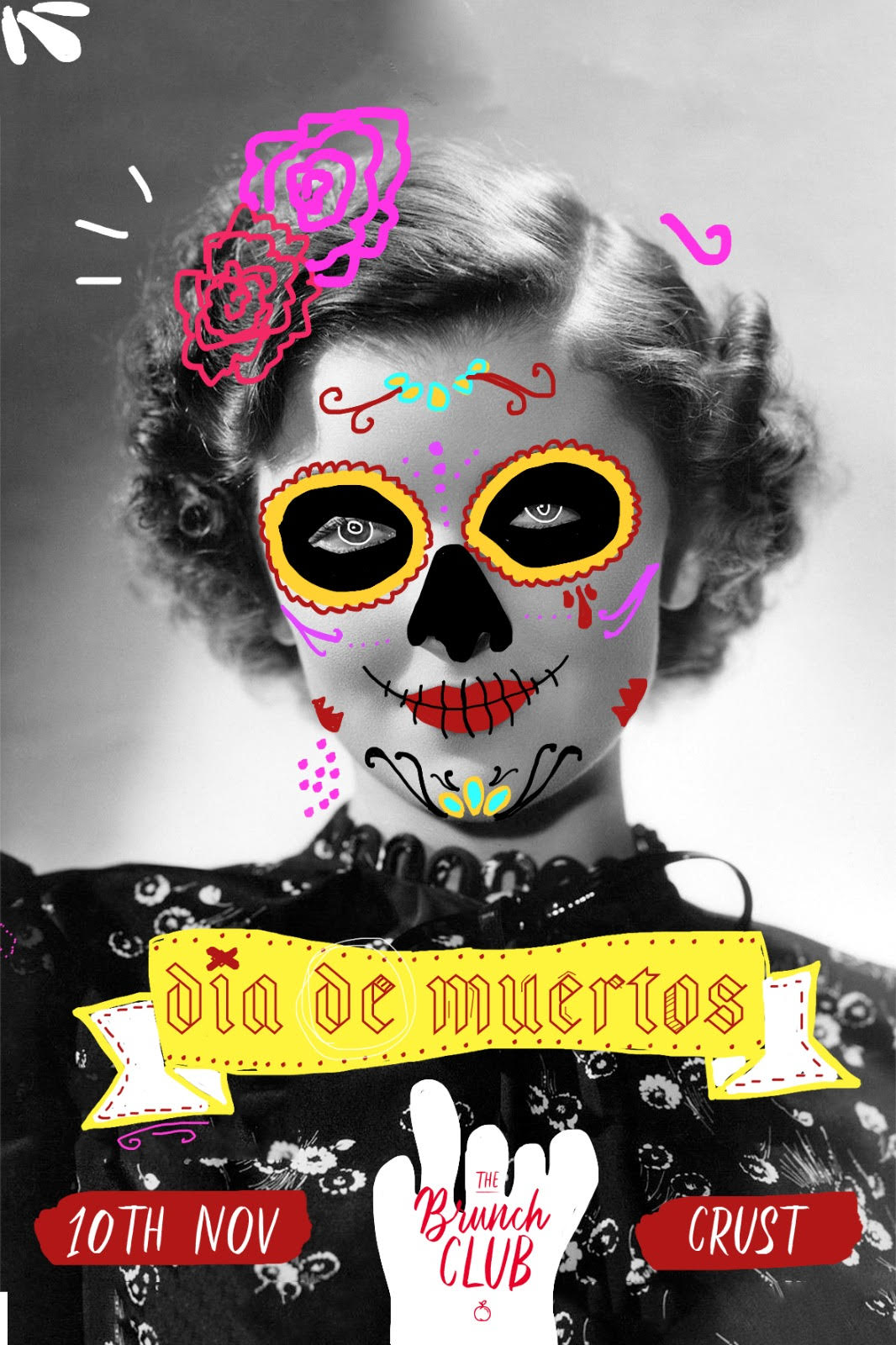 The Brunch Club: Dia de Muertos Post-Brunch flyer