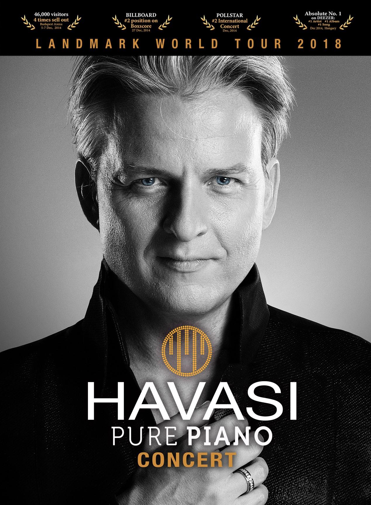 HAVASI PURE PIANO flyer