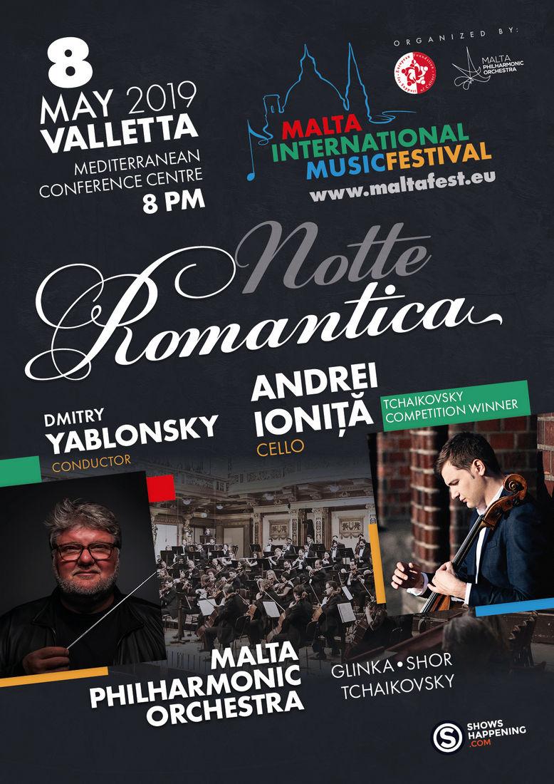 Notte Romatica flyer