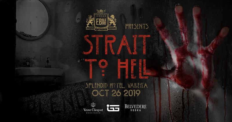 EBM Strait to Hell - Halloween Special flyer