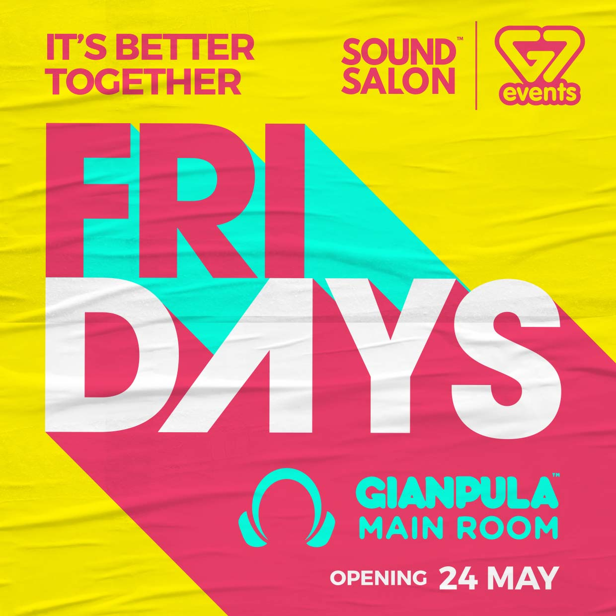 G7 Events & Sound Salon - Fridays