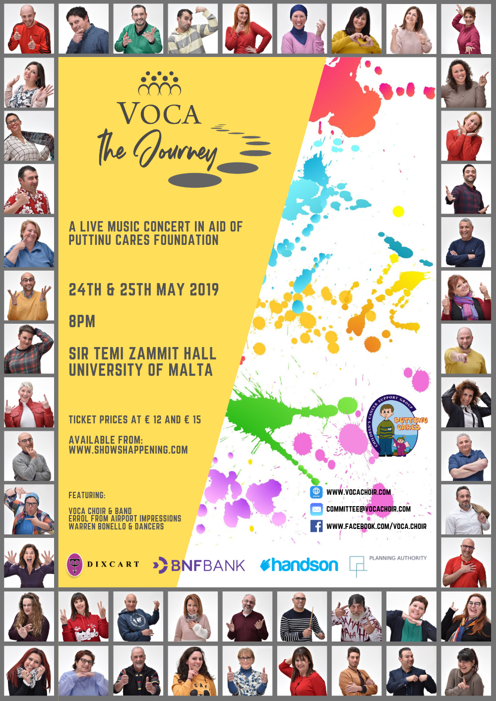VOCA The Journey flyer