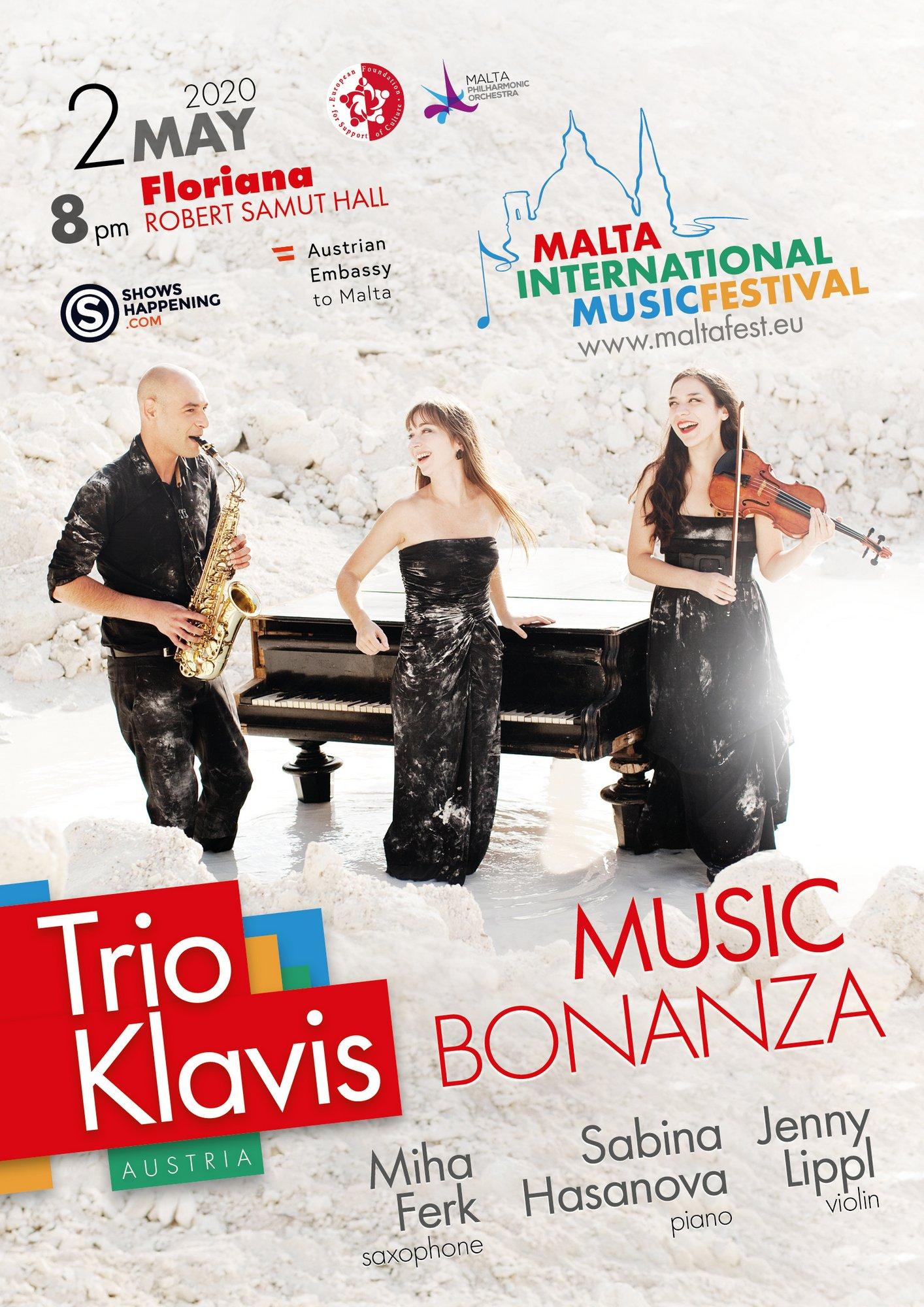 MUSIC BONANZA flyer