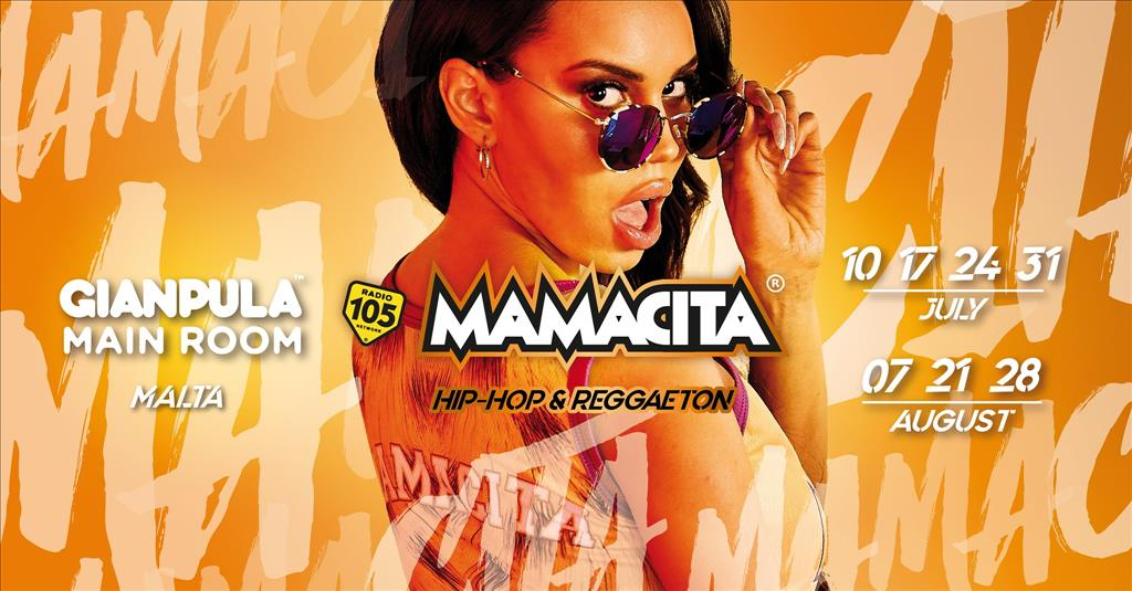 Mamacita HipHop & Reggaeton • Gianpula Main Room • Malta flyer