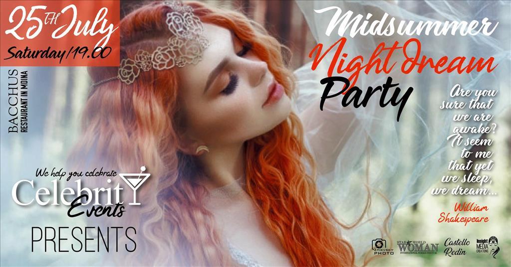 Midsummer Night Dream Party flyer