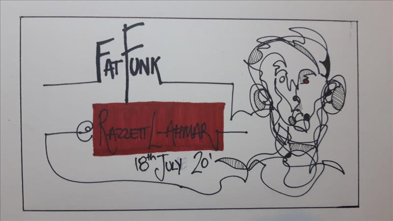 fatFunk presents the Ghost :) flyer