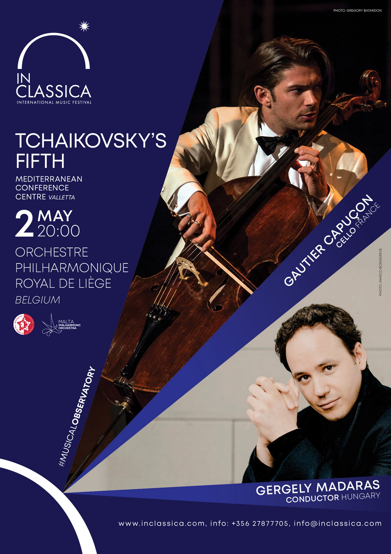 TCHAIKOVSKY'S FIFTH flyer