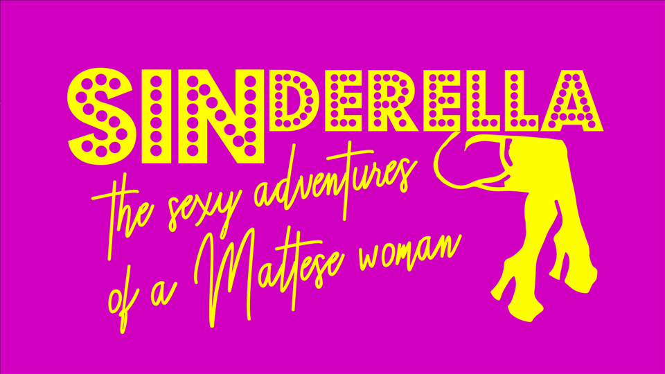 Sinderella - The Adult Panto flyer