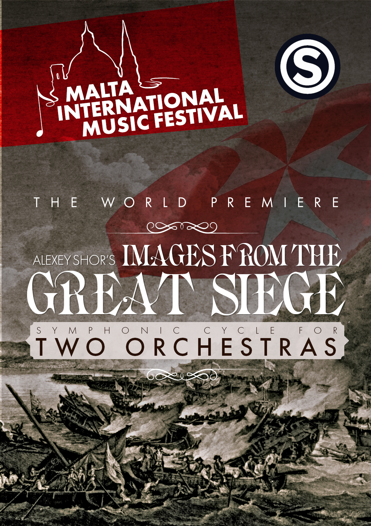 'IMAGES FROM THE GREAT SIEGE' flyer