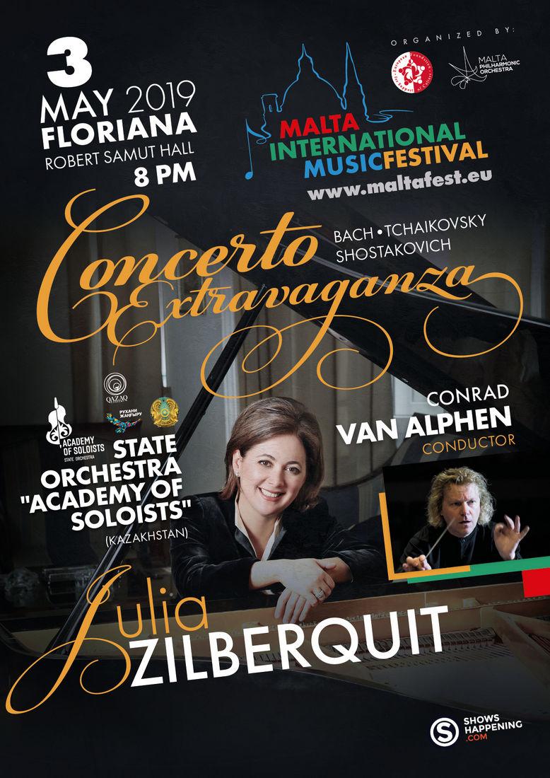 Concerto Extravaganza flyer