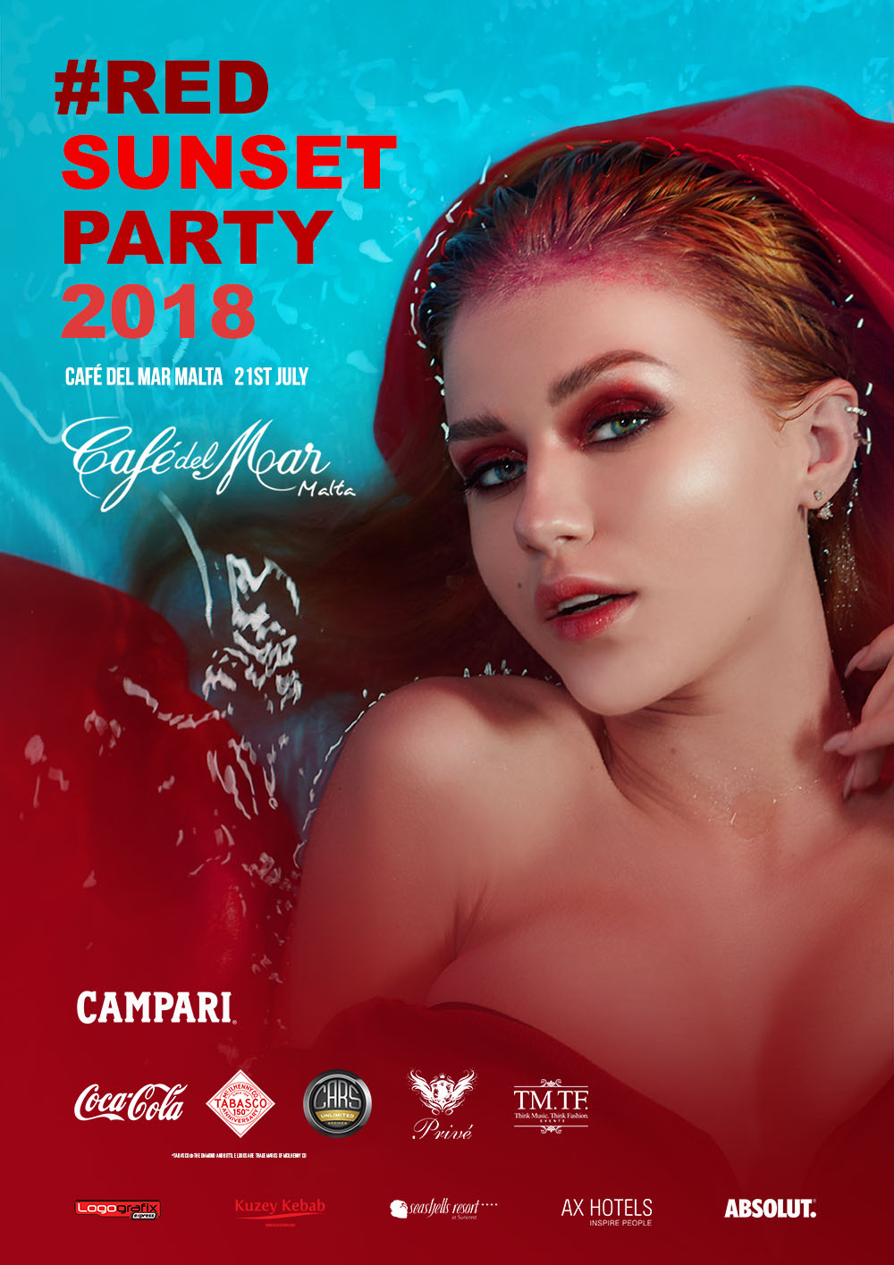 Red Sunset Party 2018 flyer