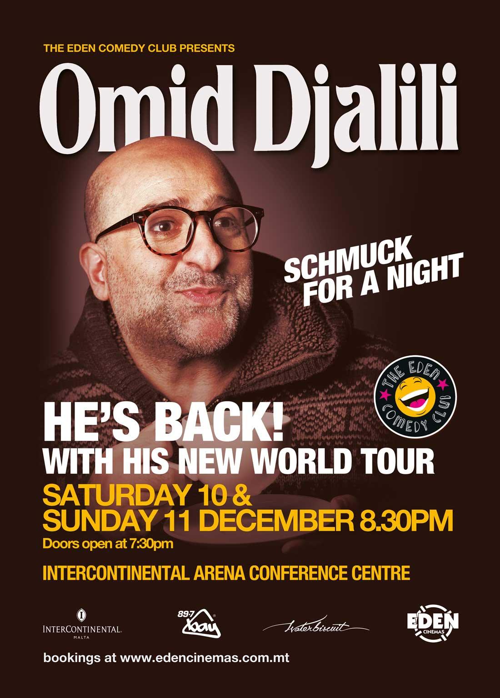 Omid Djalili - Schmuck For A Night flyer