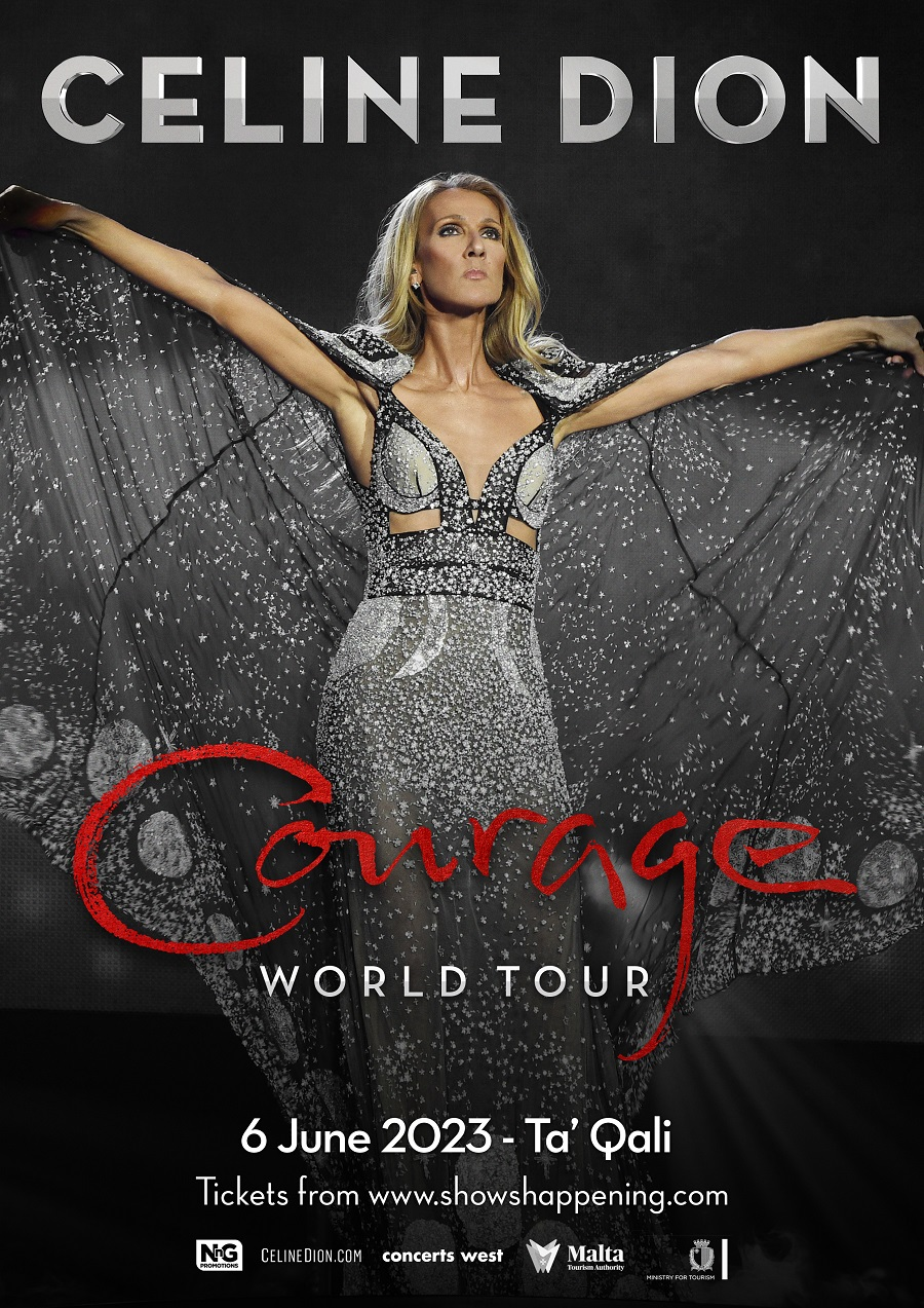 NnG Promotions presents Celine Dion World Courage Tour flyer