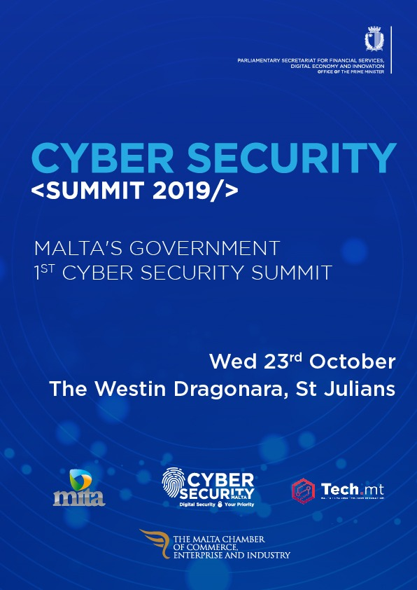 Cyber Security Summit 2019 flyer