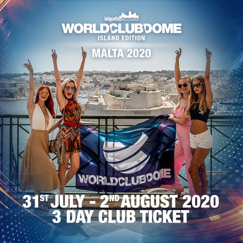 World Club Dome Island Edition 2020 - 3 DAY Club Ticket - Weekend flyer