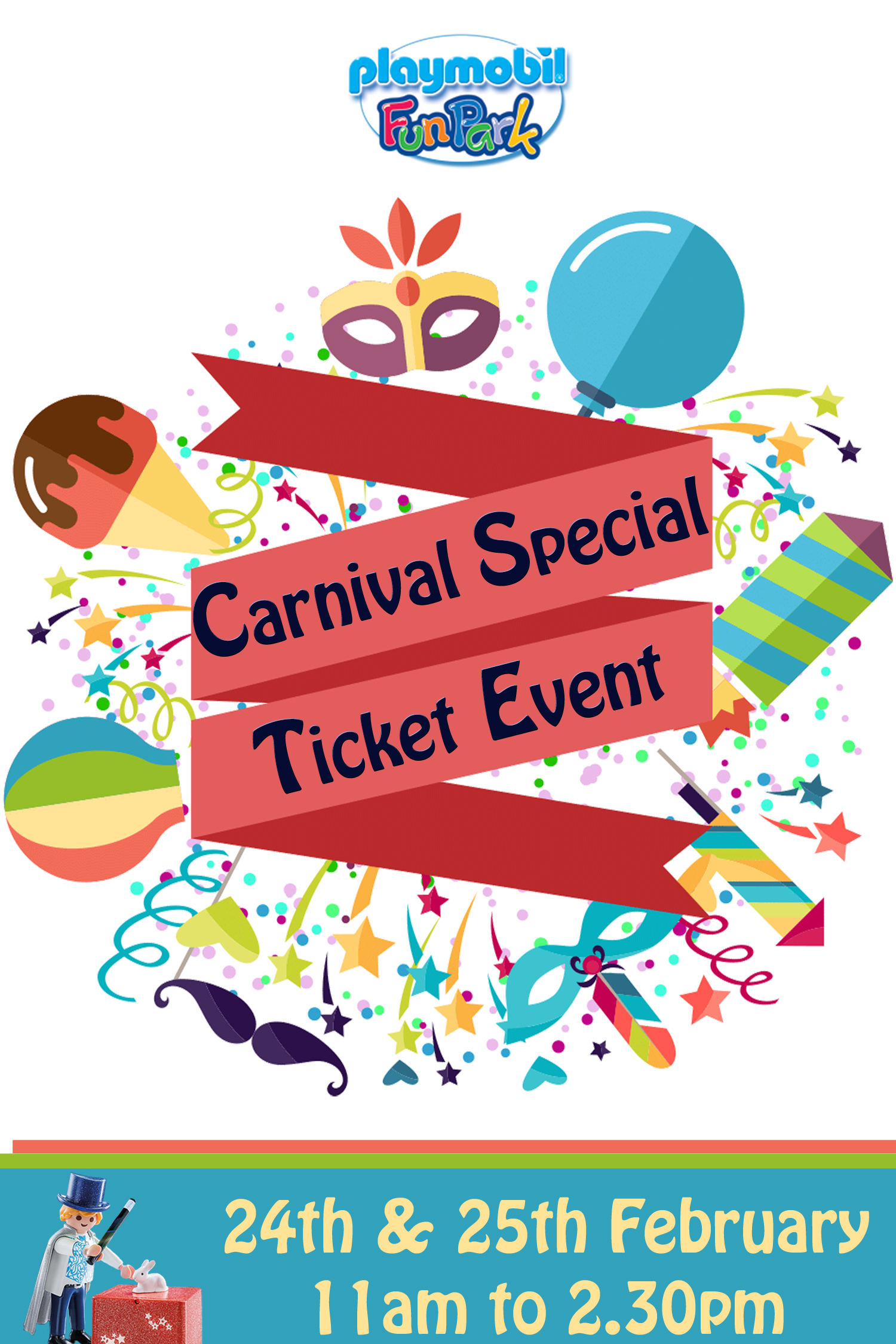 Carnival Special Ticket Event flyer