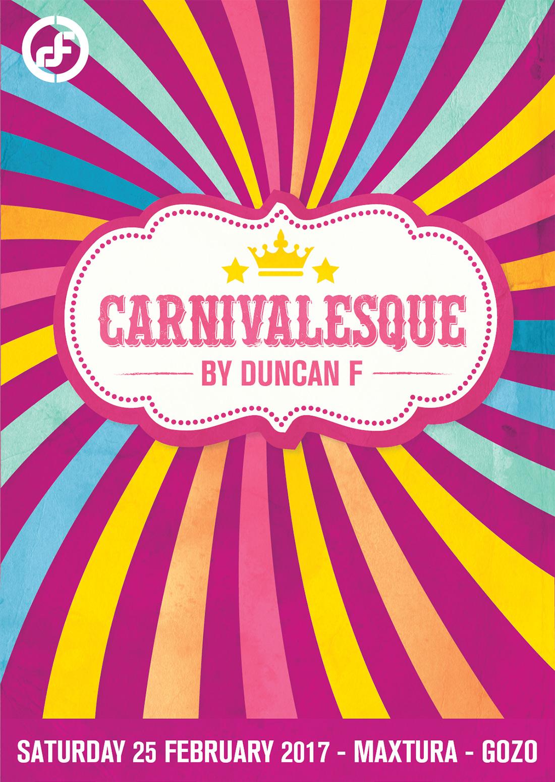 Carnivalesque flyer