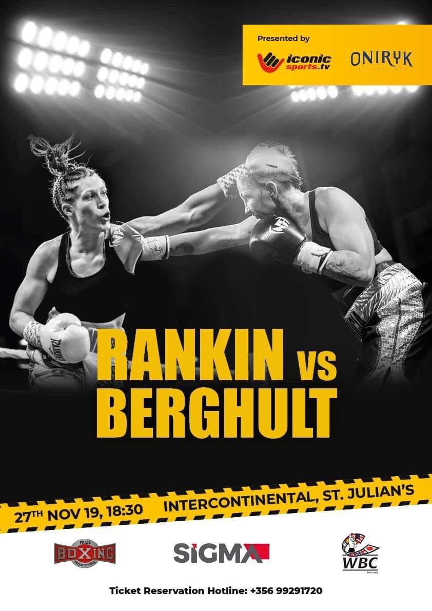 SiGMA Malta World Boxing Council WBC World Title Fight flyer