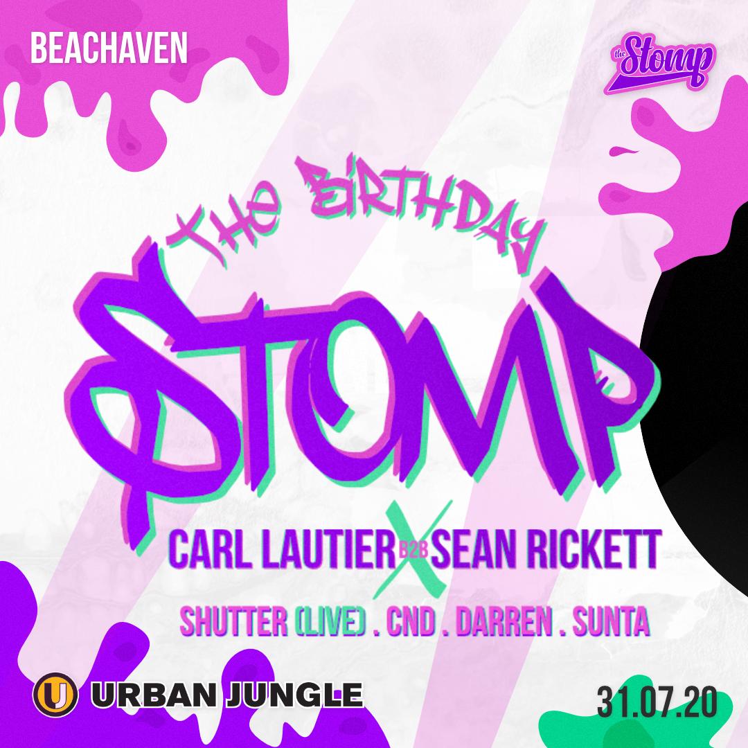 Carl Lautier X Sean Rickett - Birthday Stomp flyer