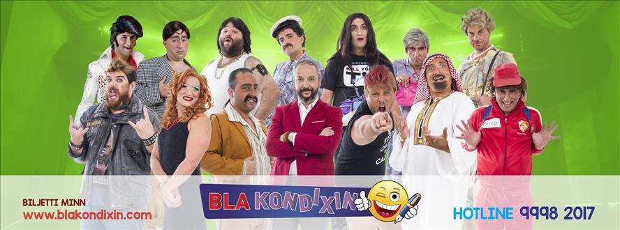 Bla Kondixin flyer