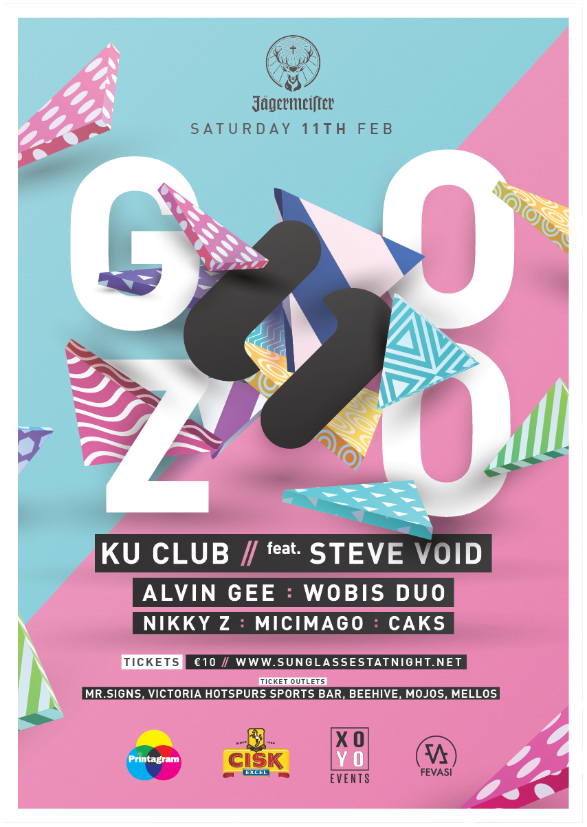 Sunglasses At Night - Winter Edition - KU Club Gozo flyer