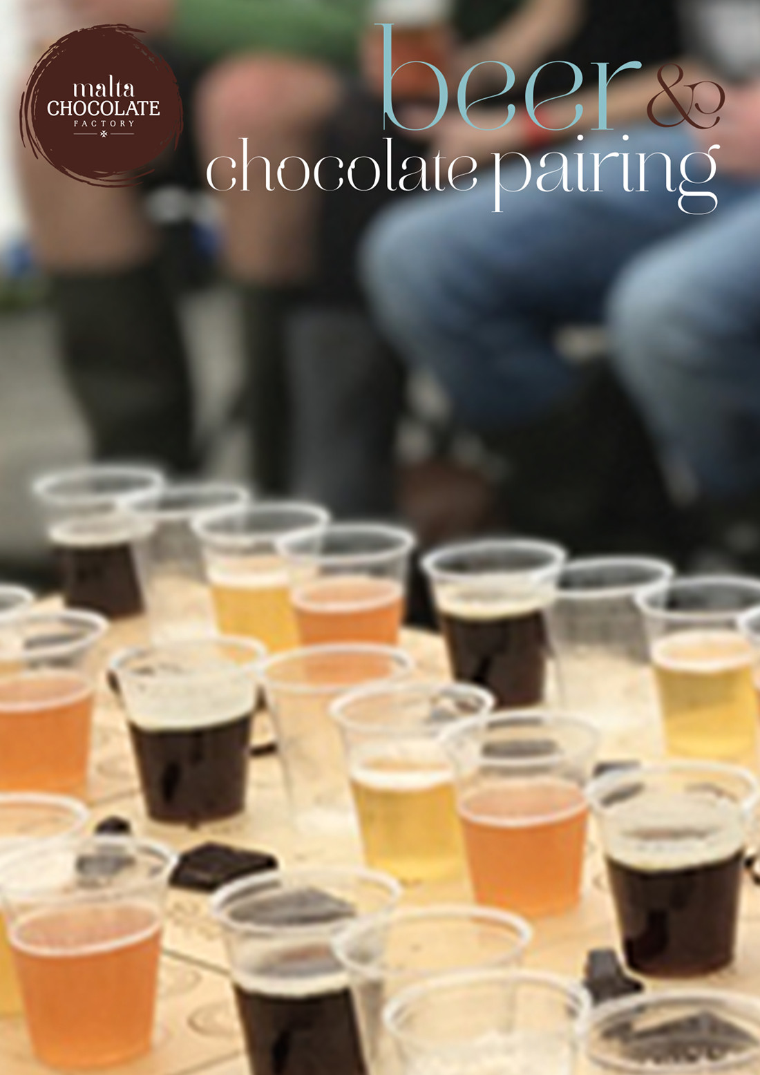 Beer and Chocolate Pairing flyer