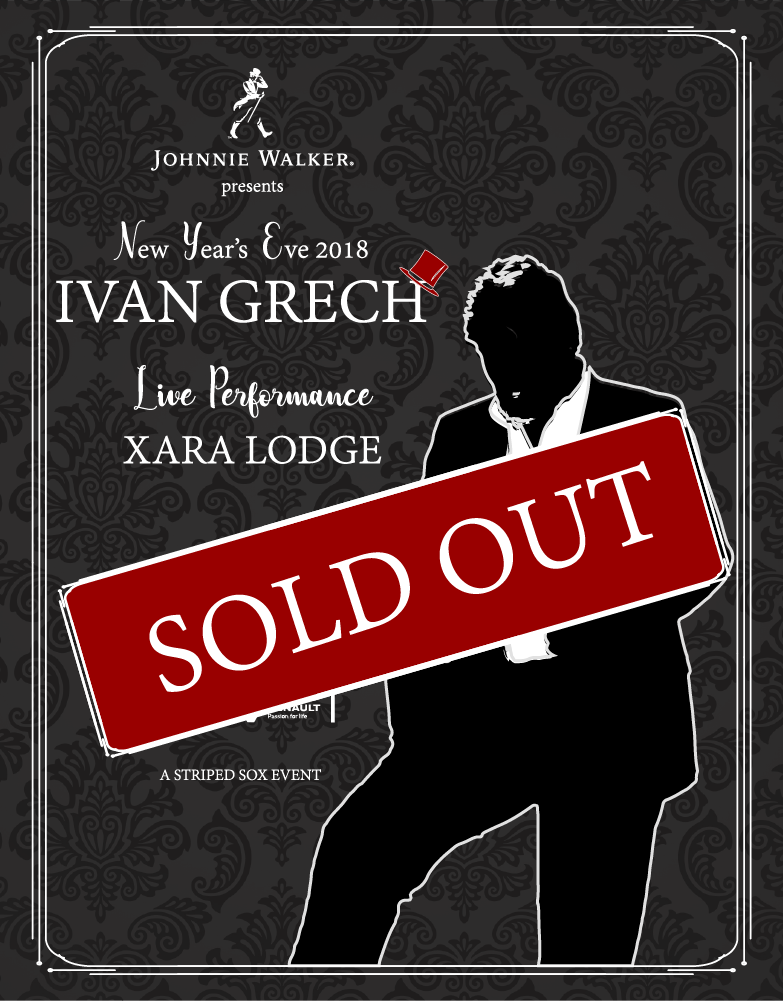New Year's Eve 2018 with Ivan Grech flyer