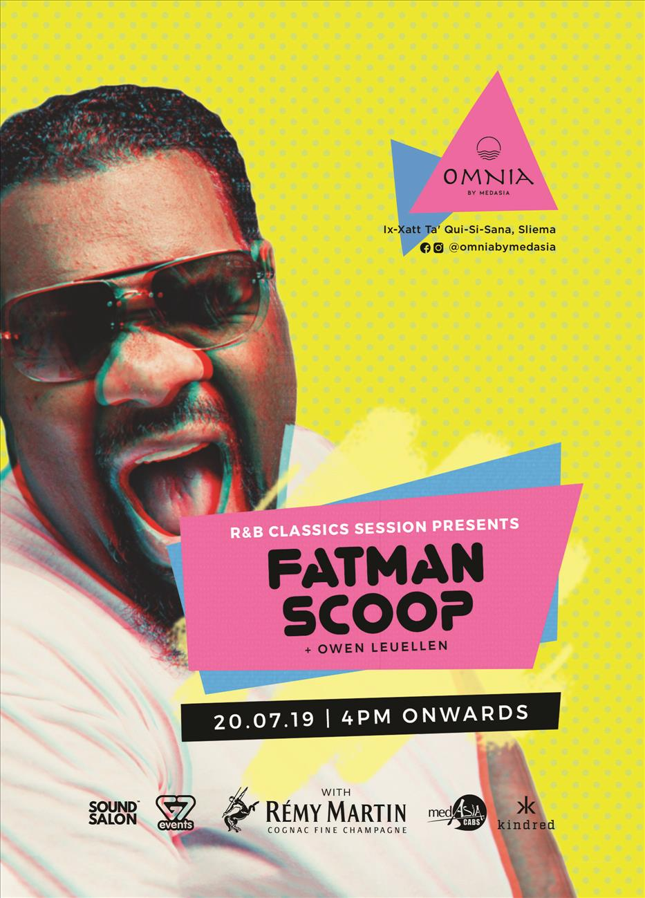 Fatman Scoop LIVE - R&B Sessions - The Classic Edition flyer