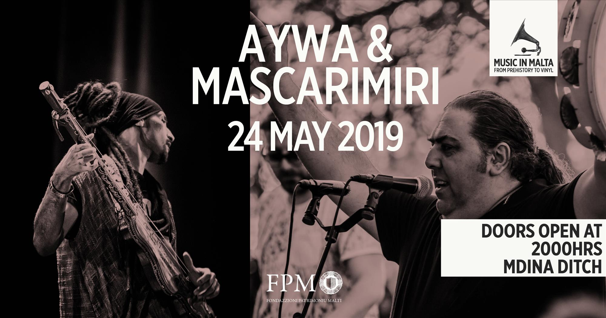 AYWA & MASCARIMIRI flyer