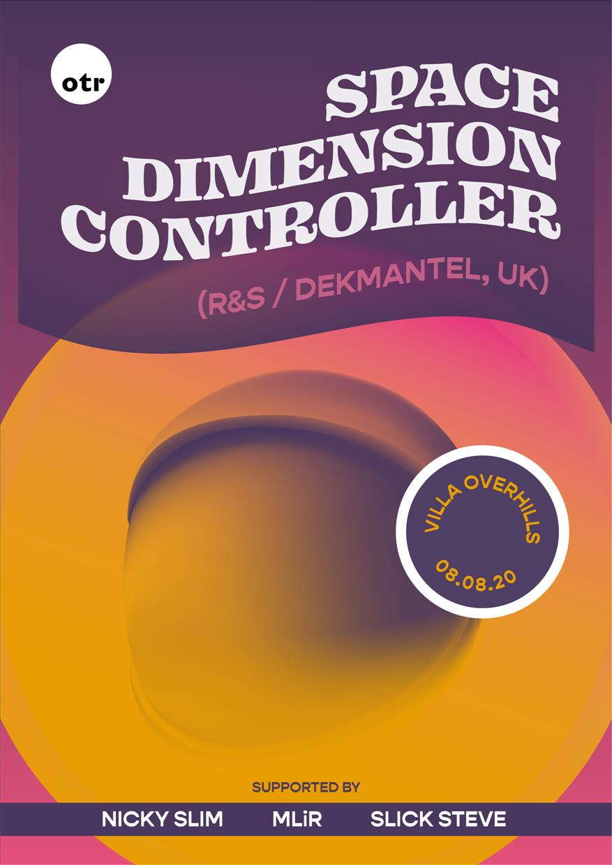 OTR Villa Pool Party w/ Space Dimension Controller flyer