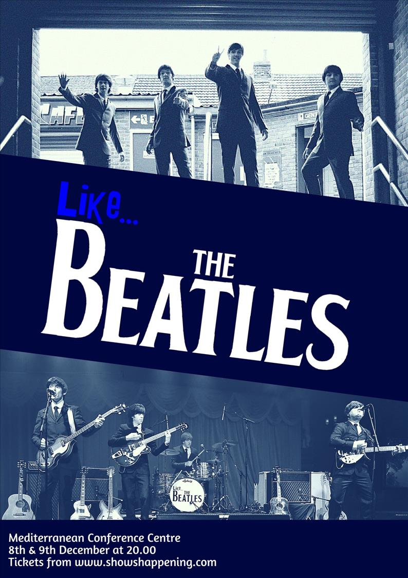 Like... The Beatles flyer