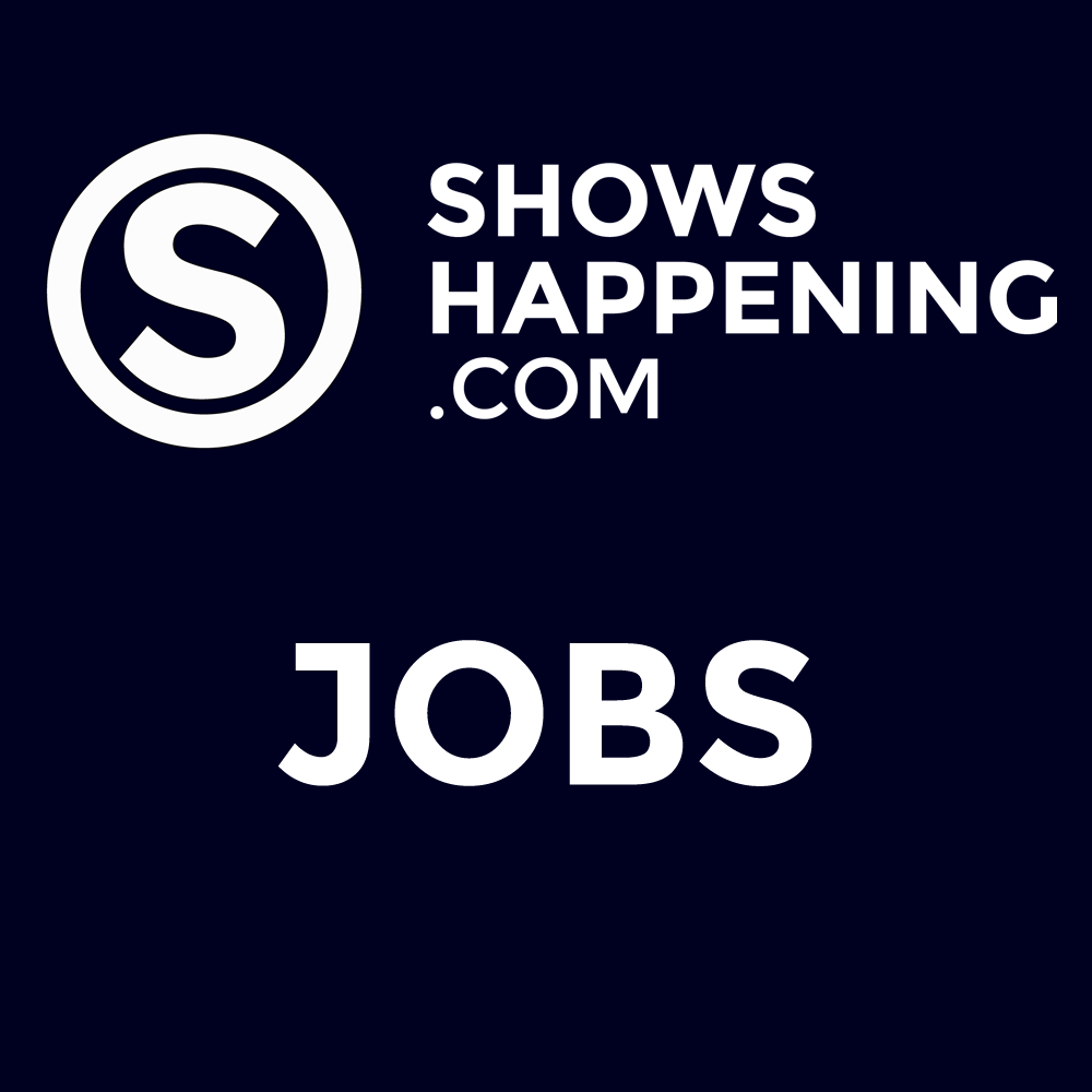 Jobs at Showshappening flyer