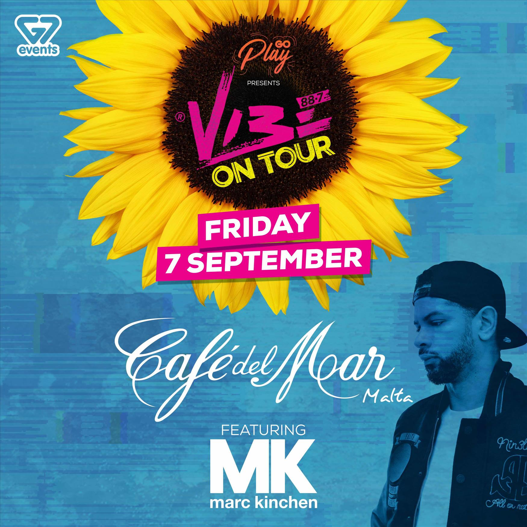 VIBE ON TOUR ft. MK flyer