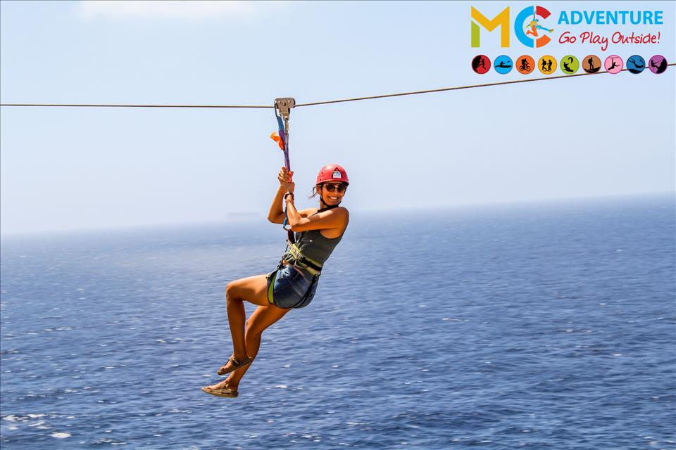 Zipline (Mosta, Valletta, Migra)- Public - MC Adventure poster