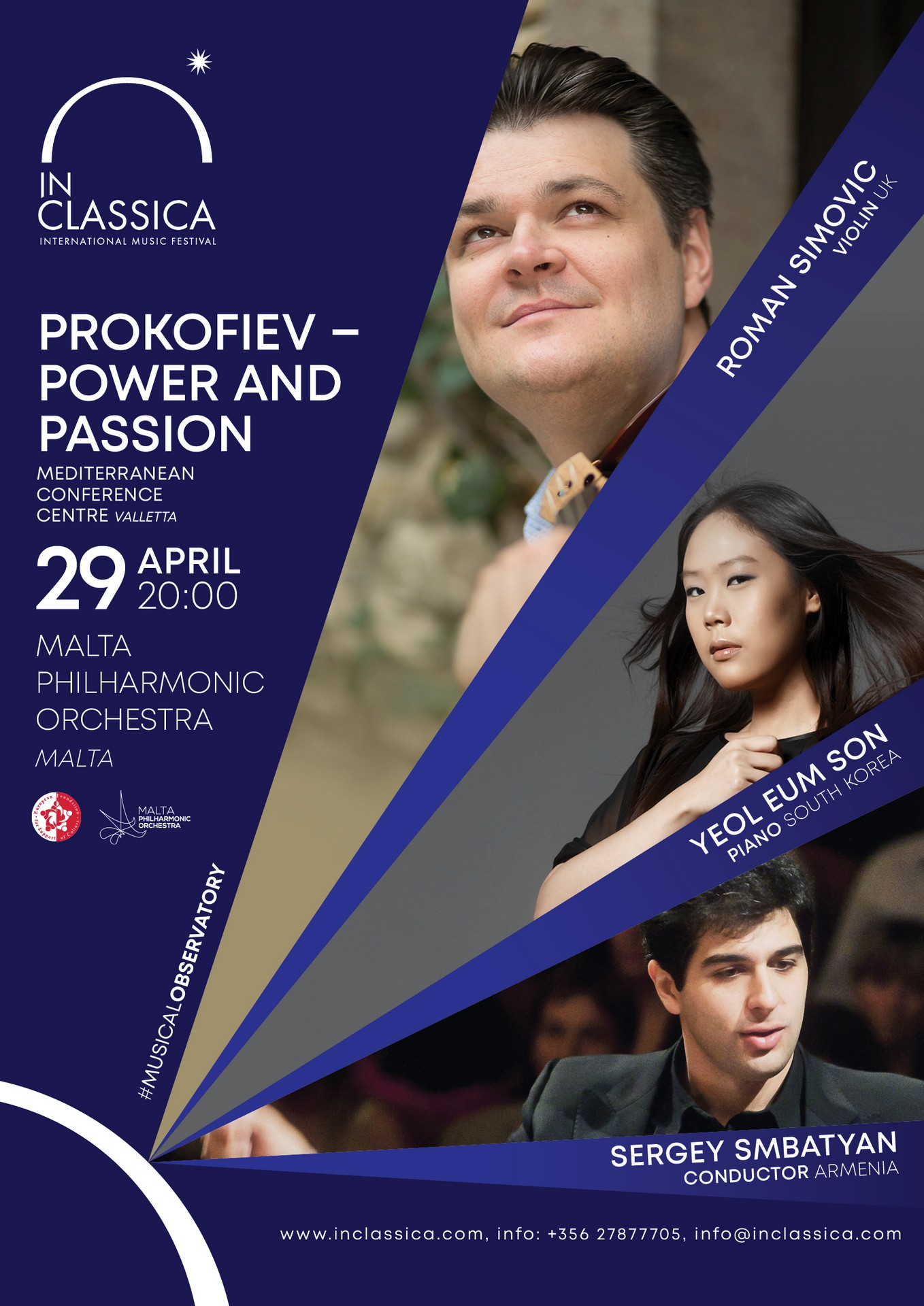PROKOFIEV – POWER AND PASSION flyer