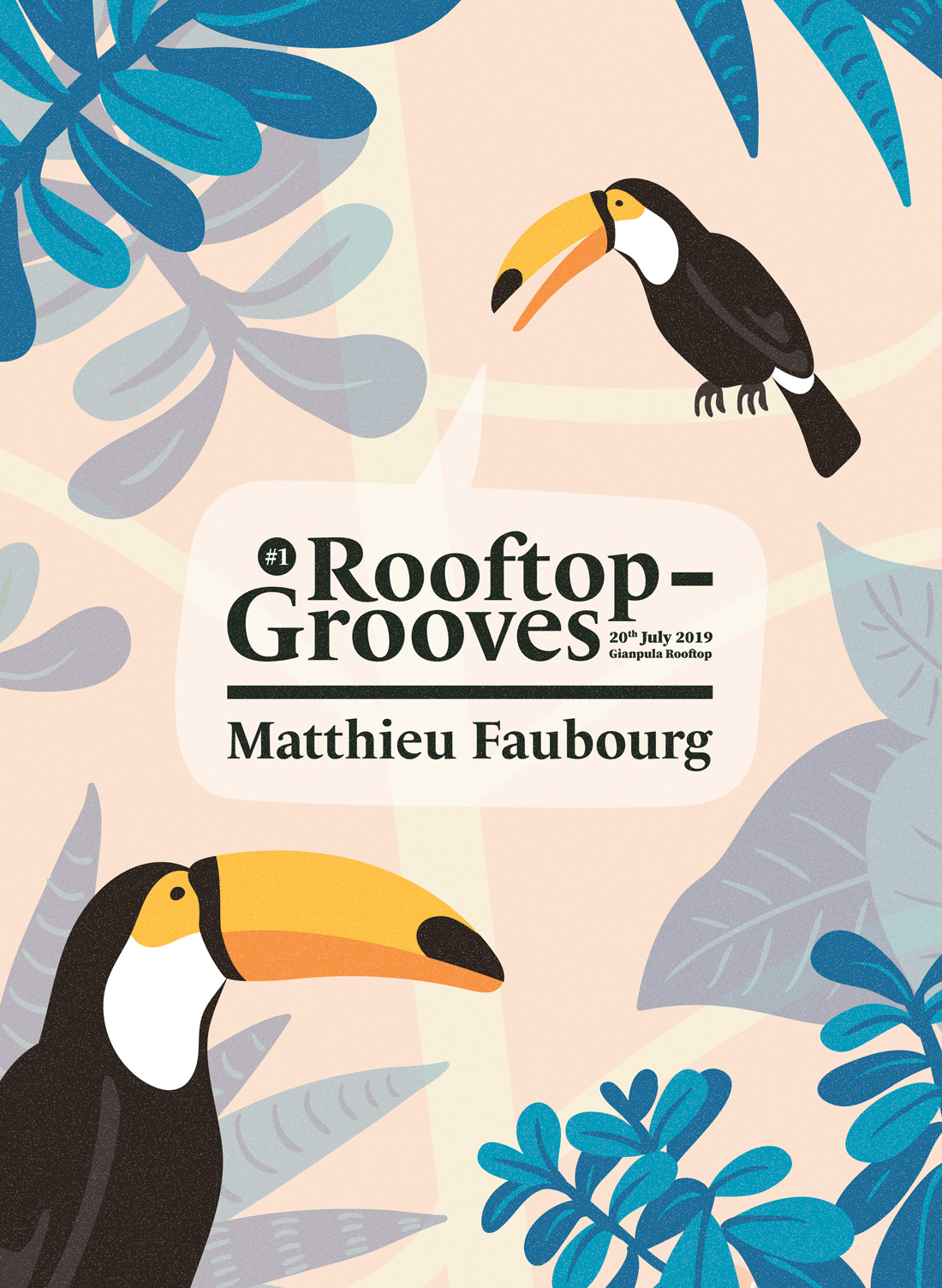 Rooftop Grooves With Matthieu Faubourg flyer