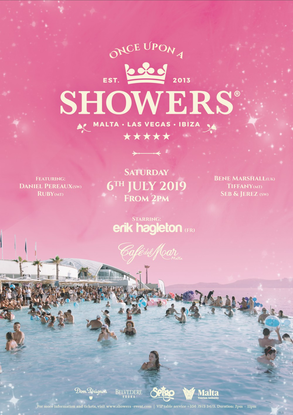Once Upon A Showers flyer