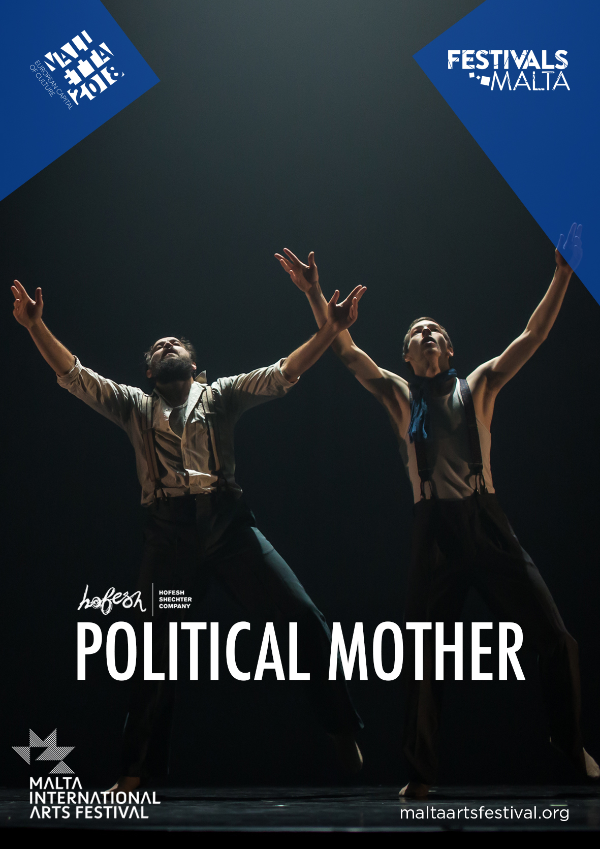 Political Mother by Hofesh Shechter Company flyer