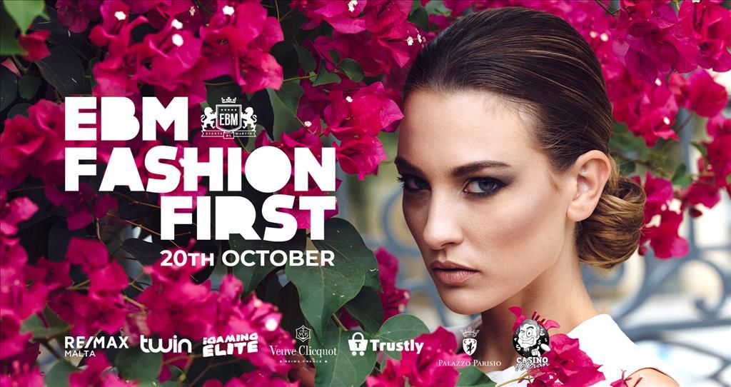 EBM - Fashion First at Palazzo Parisio flyer