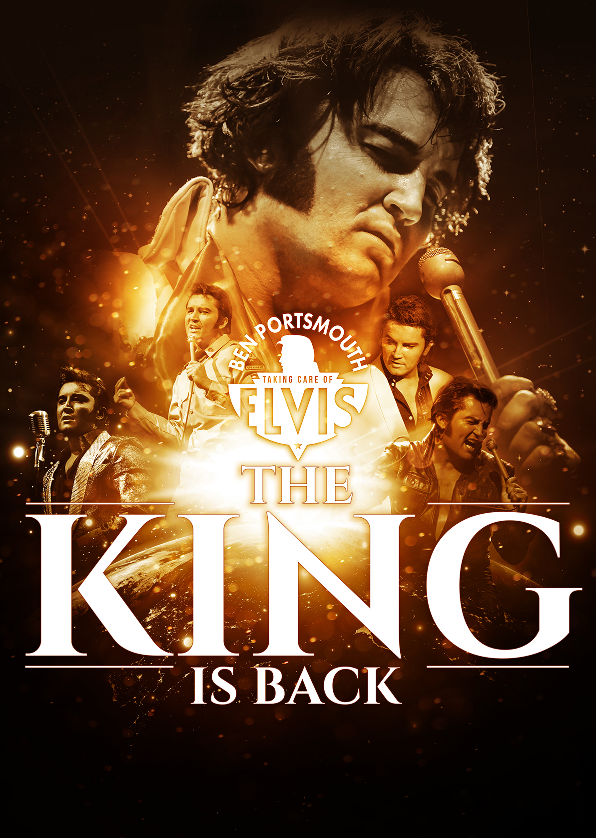 The King is Back – The Elvis show flyer