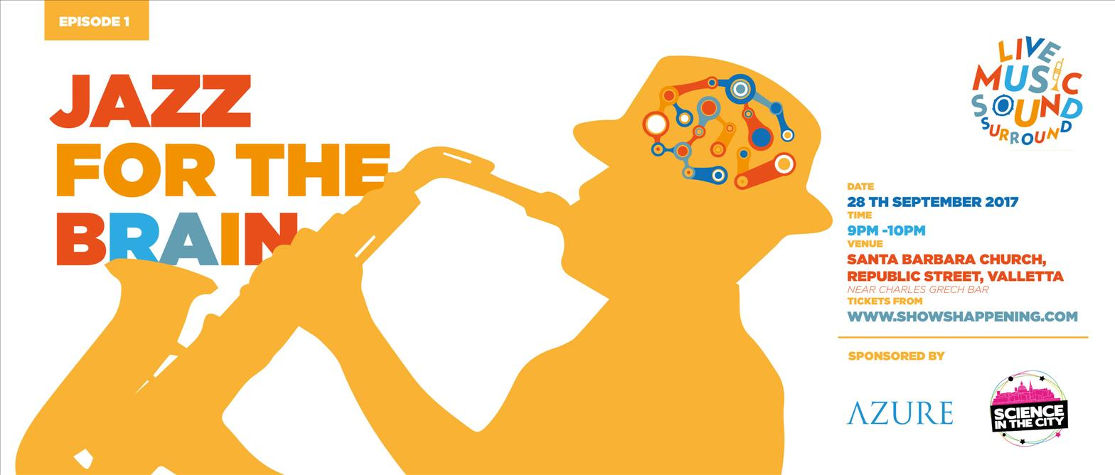 Jazz For The Brain flyer