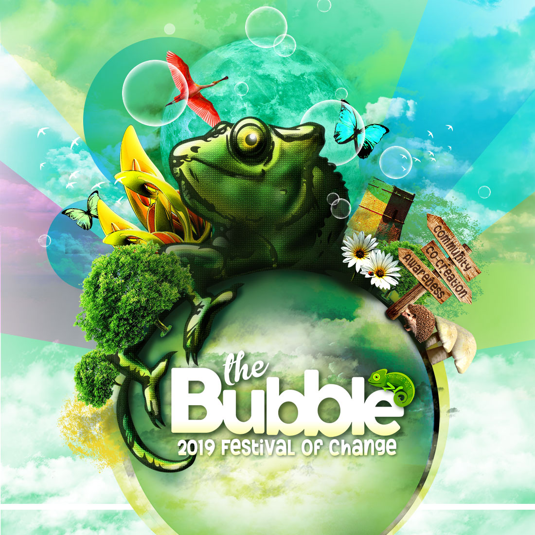 The Bubble 2019 - A Festival of Change
