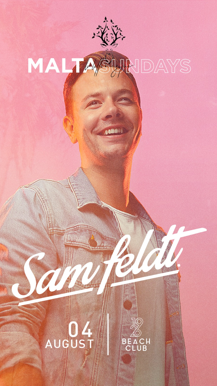 LA BELLE MUSIQUE MALTA SUNDAYS 2019 FT. SAM FELDT flyer